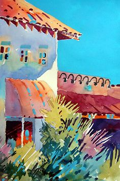 Colors of Life by Dyan Newton Watercolor ~ 22 x 15