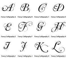 beautiful letters! Graffiti Letters A-Z Fancy Calligraphy