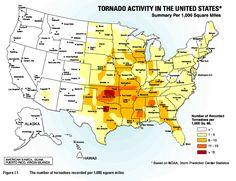 tornado alley   Tornado Alley Maps and Information