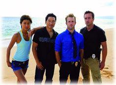 'Hawaii Five-O'  ~Alex O'Loughlin & Scott Cann