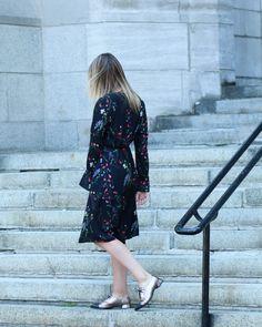 robe fleurs vero moda