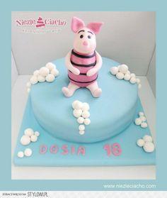 Prosiaczek, Prosiaczek i Przyjaciele, tort z Prosiaczkiem, tort urodzinowy, tort na urodziny, torty dla dzieci
