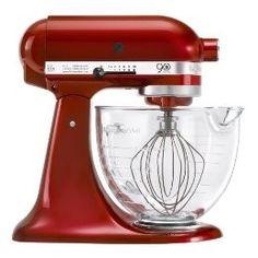 Kitchen Aid KitchenAid 90th Ann Mix Glass Bwl. I want this so bad hint hint Kijafa!! $349