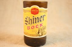 Drinking Glasses from Recycled Shiner Bock by CountryRichDesigns