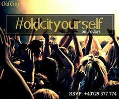 TONIGHT!!! 22:00, #oldcityourself at OldCity Club. RSVP: 0729.377.774