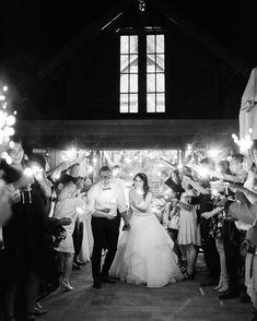 Sparkler Exit at Bendooley Estate in Berrima / Southern Highlands, Fine Art Wedding Photography