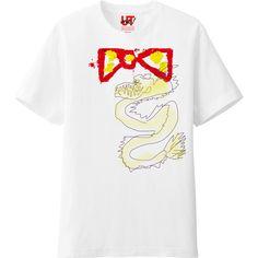 A dragon http://utme.uniqlo.com/jp/t/J4iUcgc