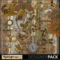 #MandogScraps is full of colour and unique designs! Take a look! @www.MyMemories.com #Create #Digital #Scrapbook #DIY #Timemachine-1