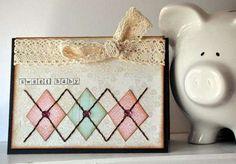 sweet baby card. super cute. #scrapbooking #cardmaking
