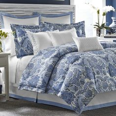 Tommy Bahama Bedding Porcelain Paradise Bedding Collection & Reviews | Wayfair