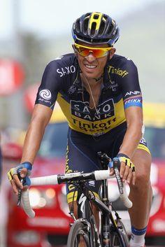 Alberto Contador - Le Tour de France 2013  Please follow us @ http://www.pinterest.com/wocycling