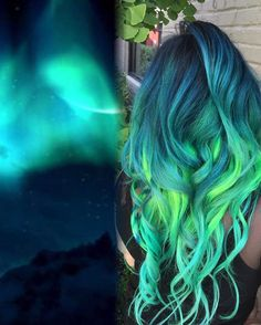 """1,768 Likes, 40 Comments - AshFortis Va Beach Hairstylist (@xostylistxo) on Instagram: """"Inspired by all this #galaxyhair so why not! @lysseon congrats on all that hair love! I am so happy…"""""""