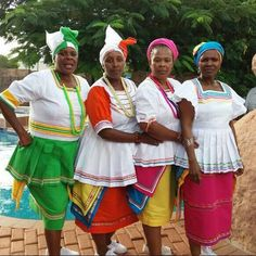 Nice Traditional Wedding dresses my aunts in traditional Pedi regalia... Check more at