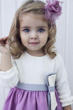 little girls dress. she is a cutie.