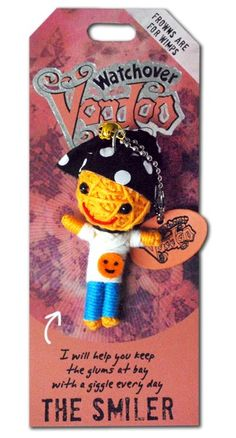 Watchover+VooDoo+String+Doll+Keychain+-+Smiler