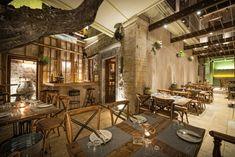 Peskesi restaurant by Manousos Leontarakis & Associates, Heraklion – Greece » Retail Design Blog