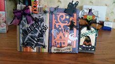 Halloween treat bags using my Crocus Explore Air