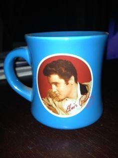 Elvis Presley coffee cup