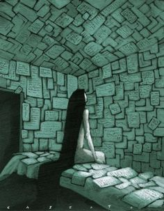 Vida y escritura / Vida y escritura (Ilustración de Marco Cazzato)