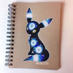 Here's Umbreon. I was too into this & catching up on supergirl that I didn't get the chance to take a progress photo. Haha But here's the finished drawing of Umbreon. I hope you guys like it! Pokemon Fusion, Gif Pokemon, Pokemon Fan Art, Pokemon Cards, Pokemon Eeveelutions, Eevee Evolutions, Cute Animal Drawings, Cute Drawings, Pokémon Kawaii