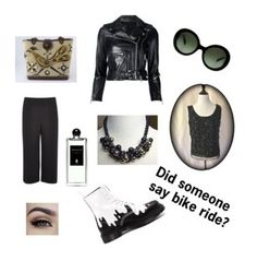 """Bike Ride"" by ddvintage on Polyvore featuring R13, Prada, Dr. Martens, River Island and Serge Lutens"
