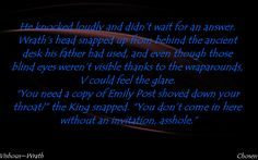 Black Dagger Brotherhood Books, Brotherhood Series, Blind Eyes, Knock Knock, Favorite Quotes, Badass, Feelings