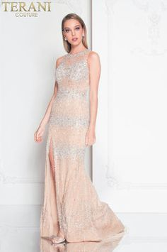 best=Sleeveless Beaded Prom Dress , Looking for that Perfect Prom Dress? Want to look amazing at the dance? Fitted Prom Dresses, Terani Couture, Beaded Prom Dress, Perfect Prom Dress, Popular Dresses, Couture Fashion, Couture Style, Special Occasion Dresses, Evening Dresses
