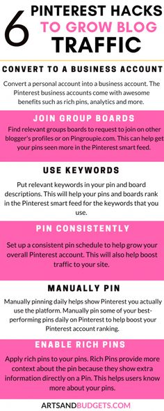 Awesome pinterest infographic. #blogging #blogtips