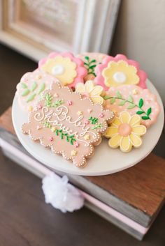 Gorgeous Baby Shower Cookies | The TomKat Studio for Shutterfly