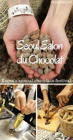 Sampling and exploring Korean chocolate at the annual Salon du Cocolat in Seoul South Korea Seoul Korea Travel, Asia Travel, Travel Tips, Food Travel, Travel Guides, Travel Destinations, South Korea Photography, Chocolate Festival, Korean Food