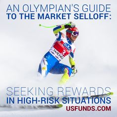 Like a cross-country skier at the take the long-term approach and keep your eyes on the prize! Gold Bullion Bars, Dow Jones Industrial Average, Eyes On The Prize, High Risk, Winter Olympics, Olympians, Olympic Games, Cross Country, Stock Market