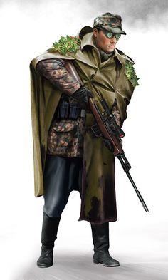 gebirgsdivision sniper by ~anderpeich on deviantART