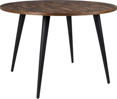 Felis Lifestyle Mo Esstisch, Teak, Braun, 110 x 110 x 76 cm Furniture Box, Furniture Design, Circular Table, Glass Dining Table, Dcor Design, Hazelwood Home, Extendable Dining Table, Dining Room Design, Wood And Metal