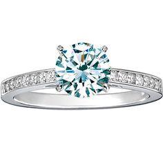 Platinum Starlight Diamond Ring (1/6 ct.tw.) from Brilliant Earth