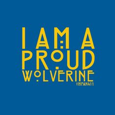 #Michigan #Wolverine