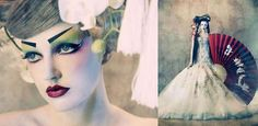Porcelain Geisha Doll Shoots - Amato Haute Couture by Tina Patni Features Stunning Gowns (GALLERY)