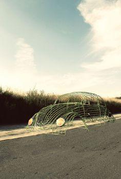 Volkswagen wire project | Karen Oetling and Juan Pablo Ramos Valadez