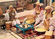 préparation du couscous (el Aoula Tunisienne)