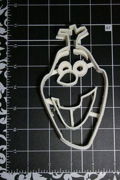 Olaf the Snowman Cookie Cutter by Geek2Geek on Etsy, $8.00