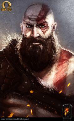 ArtStation - God Of War (Fan Art), Furqan Adil
