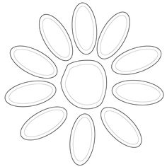 Girl Scout Daisy Petals coloring page from Girl Scouts category. Select from 20946 printable crafts of cartoons, nature, animals, Bible and many more.