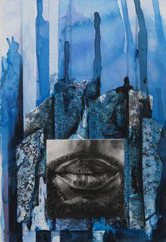 Totem (Blue)  JBarberStudio - Weekly Art - Week7