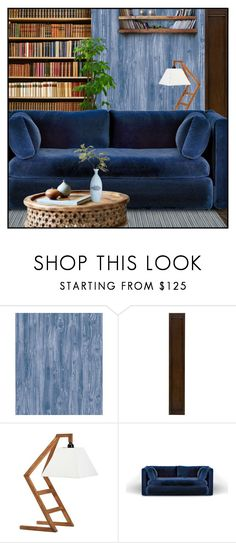 """Untitled #7231"" by ana-angela ❤ liked on Polyvore featuring interior, interiors, interior design, home, home decor, interior decorating, Tempaper, Crate and Barrel, PBteen and Dot & Bo"