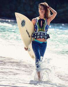 Daria Werbowy Vogue Spain July 2013