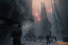 Here's a new image from Tom Clancy's The Division, showing off Times Square, an iconic location in New York City (US).