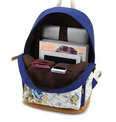 Student Backpack for School Canvas Backpacks