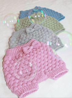 Ravelry: Såpebobleshortsen pattern by Hilde Tunheim Johannesen Knitting For Kids, Crochet For Kids, Baby Knitting, Crochet Baby, Knit Crochet, Baby Kids, Baby Boy, Ravelry, Knitting Patterns