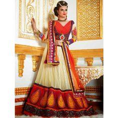 New Bridal Lehanga choli Latest Fashion Diwali Gifts 303 - Online Shopping for Lehnga by SAREEZ HOUSE