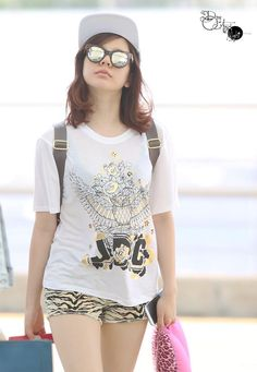 Sunny SNSD incheon airport 140802