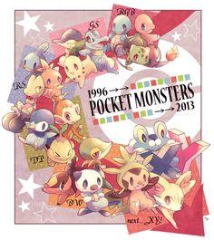 Pokemon through the years - Imgur